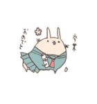 ゆるゆるウサギ《はる風味》(個別スタンプ:31)