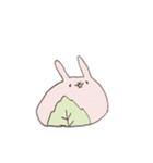 ゆるゆるウサギ《はる風味》(個別スタンプ:33)