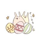 ゆるゆるウサギ《はる風味》(個別スタンプ:35)
