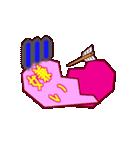 全部ハート!折り紙アニメ(個別スタンプ:22)