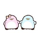 恋するペンギン(個別スタンプ:01)