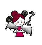 ほんわか天使ちゃんといたずら悪魔ちゃん(個別スタンプ:07)