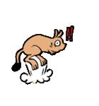 ラララ♬動物がいっぱい♬驚き!汗、涙!(個別スタンプ:13)