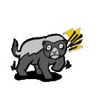 ラララ♬動物がいっぱい♬驚き!汗、涙!(個別スタンプ:21)