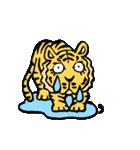 ラララ♬動物がいっぱい♬驚き!汗、涙!(個別スタンプ:23)