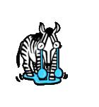 ラララ♬動物がいっぱい♬驚き!汗、涙!(個別スタンプ:27)
