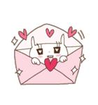 恋するうさキュン*ハートいっぱい(個別スタンプ:08)