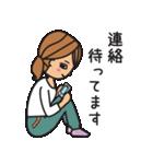 オトナ女子(女子力UP)(個別スタンプ:25)