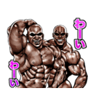 筋肉マッチョマッスルスタンプ 11(個別スタンプ:17)