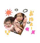 HAMA sistersでの日常会話♡(個別スタンプ:03)