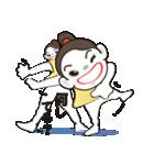 ヒップホップダンスのスタンプ(日本4)(個別スタンプ:01)