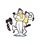 ヒップホップダンスのスタンプ(日本4)(個別スタンプ:04)