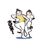 ヒップホップダンスのスタンプ(日本4)(個別スタンプ:12)
