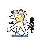 ヒップホップダンスのスタンプ(日本4)(個別スタンプ:21)