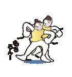 ヒップホップダンスのスタンプ(日本4)(個別スタンプ:34)