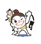 ヒップホップダンスのスタンプ(日本4)(個別スタンプ:40)