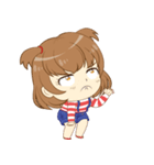 Zaya cute girl(個別スタンプ:9)
