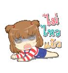 Zaya cute girl(個別スタンプ:13)