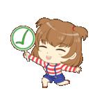 Zaya cute girl(個別スタンプ:15)