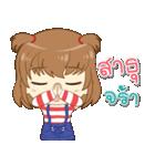 Zaya cute girl(個別スタンプ:24)