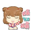 Zaya cute girl(個別スタンプ:28)