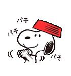 はげしく動く!スヌーピー(個別スタンプ:07)