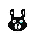 BLACK BUNNY 001(個別スタンプ:13)