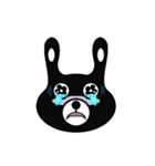 BLACK BUNNY 001(個別スタンプ:15)