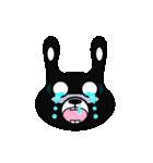 BLACK BUNNY 001(個別スタンプ:16)
