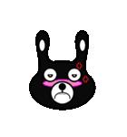 BLACK BUNNY 001(個別スタンプ:22)