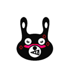 BLACK BUNNY 001(個別スタンプ:23)