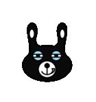BLACK BUNNY 001(個別スタンプ:38)