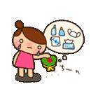 ☆おだんごちゃん8☆花粉症編(個別スタンプ:15)