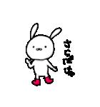 長靴うさぎ~使える編(個別スタンプ:37)