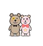 クマの子あいさつ(個別スタンプ:25)