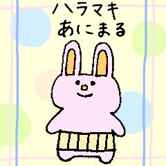 ハラマキあにまるシリーズ(うさぎ)
