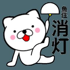 【魚住】が使う主婦が作ったデカ文字ネコ