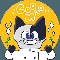料理する魔法猫、クマオ