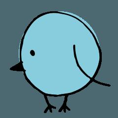 あおまる鳥