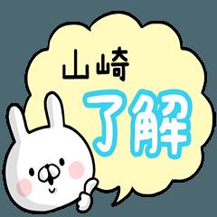 【山崎】専用名前ウサギ