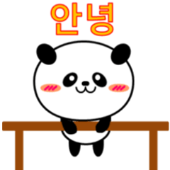 カワイイぱ~んだぁ!(韓国語)