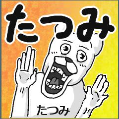 【たつみ/タツミ】専用名前スタンプ