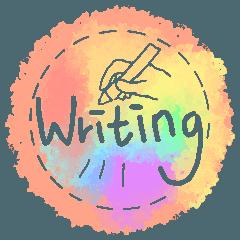 Render English handwriting