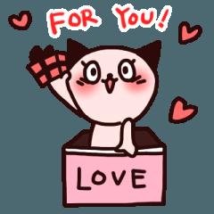 ねこ子のバレンタイン