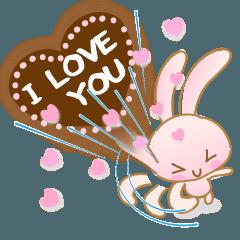 この世界の片隅で愛を語るウサギ