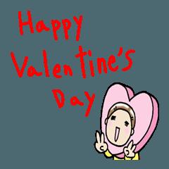 バレンタインデーさちこ