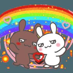 うちウサギ4=LOVE30%増量中♥