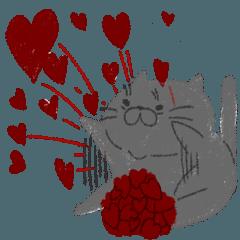 むちむちFat Cat 【ハートがいっぱい!】