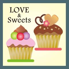 スイーツ大好き♥️LOVE & Sweets