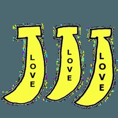 愛とloveのスタンプ